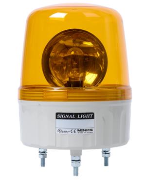 Вращающийся сигнальный маяк желтого цвета AVGB-20-Y
