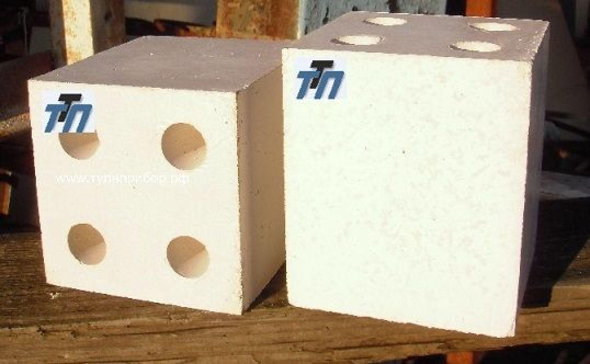 Изделия огнеупорные для стабилизирующих камер газовых горелок