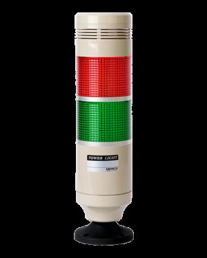 Световая колонна MP8G-B200-RG с питанием 12-24вольта и красным и зеленым плафоном