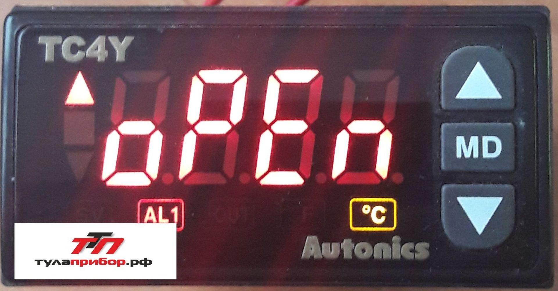 Сброс наиболее частых ошибок  контролеров Autonics.