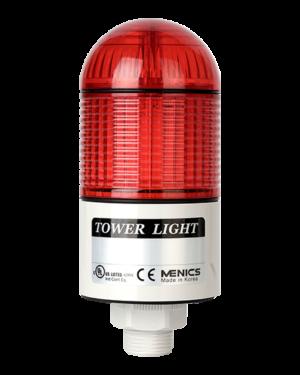 Светодиодная красная куполообразная светосигнальная колонна PTD-LCF-102-RYG