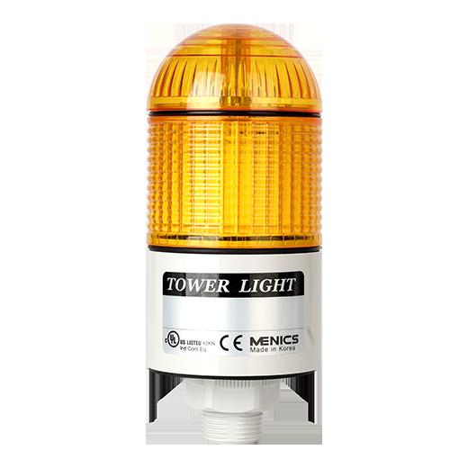 Светосигнальные колонны PTD-LCF-102-Y c желтым плафоном на 24 вольта