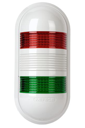Индикаторный светильник PWE-201-RG красного и зеленого постоянного свечения и питанием 12 вольт