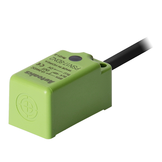 PSN17-8DN2 Датчик индуктивный, квадратный, 17 мм, Зона чувствительности 8мм,