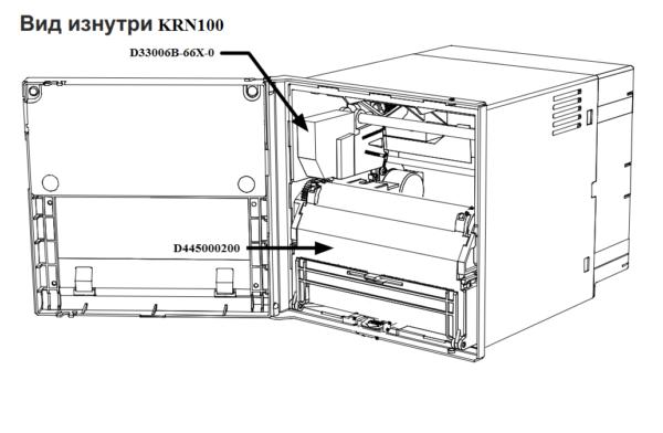 Регистратор KRN 100 вид изнутри