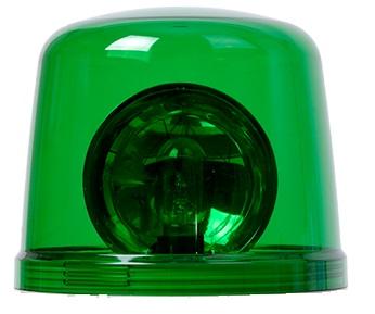 AVG GLOBE Плафон для сигнальных маячков AVG, зеленый