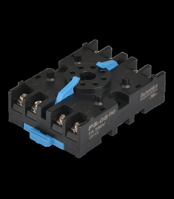 Гнездовые разъемы PS-08 для контроллеров на 8 кнтактов. На DIN рейку