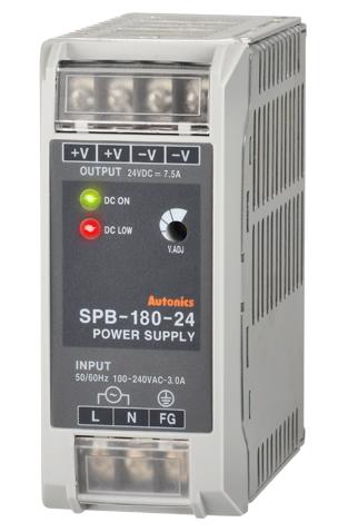 Импульсный источник питания SPB-180-24 мощностью 180 вт и выходным напряжением 24 вольта