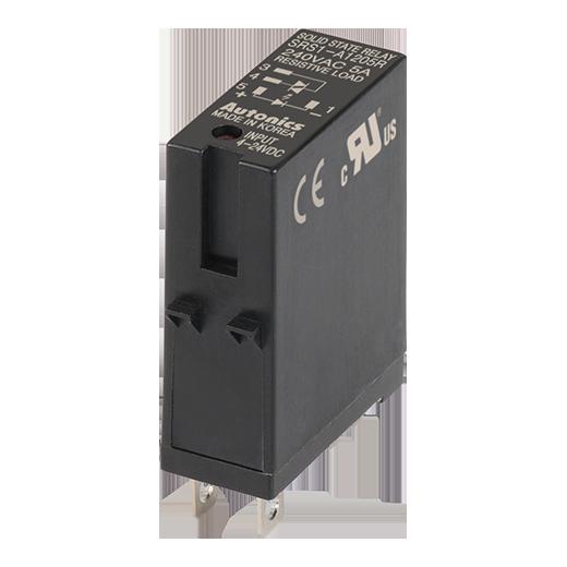 Однофазные реле SRS1-A1205R на клеммную колодку SK-G05 на напряжение 24-240 вольт