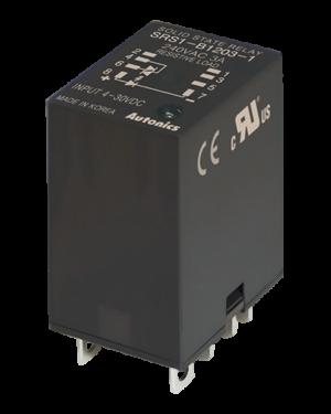 Твердотельные 1 фазные реле SRS1-B1203-1 с управлением 4-30 вольт и токо нагрузки 3А
