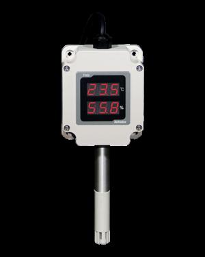 Преобразователи температуры и влажности с индикатором серии THD-WD с пределом измерения температуры: : от -19,9 до 60,0℃, влажности: : отн. влажность 0-99%