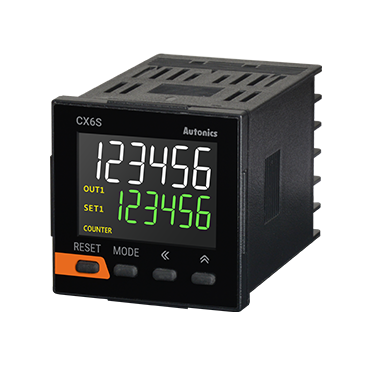 Счетчики серии CX6S с ЖКИ индикатором.