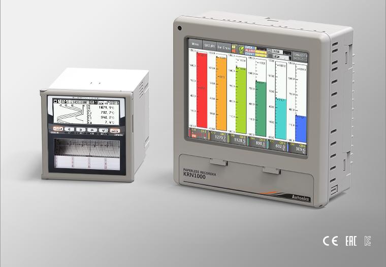 Регистраторы технологических процессов серий KRN1000 и KRN100 внесены в реестр средств измерений.